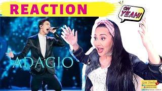 DIMASH Adagio REACTION димаш | Lucia Sinatra Vocal Coach