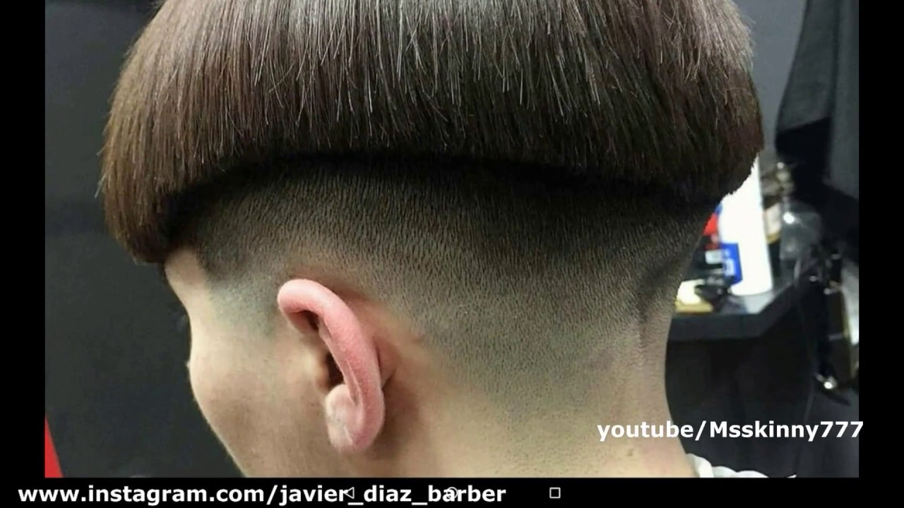Extreme Female Bowl Cut Haircut Youtube
