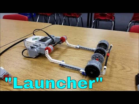 """""""The LEGO Mindstorms EV3 Project: """"The Launch3r"""""""