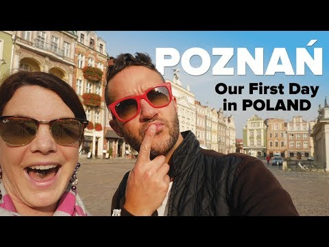 HELLO POZNAŃ! Canadians travel to Poland.