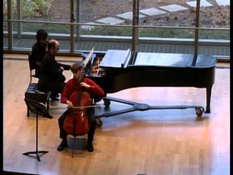 Elliot Carter Cello Sonata: Andrew Rosenblum and Sam Ericsson