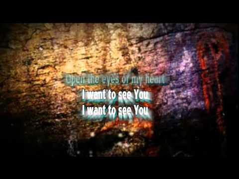 Open The Eyes Of  My Heart Karaoke with Lyrics