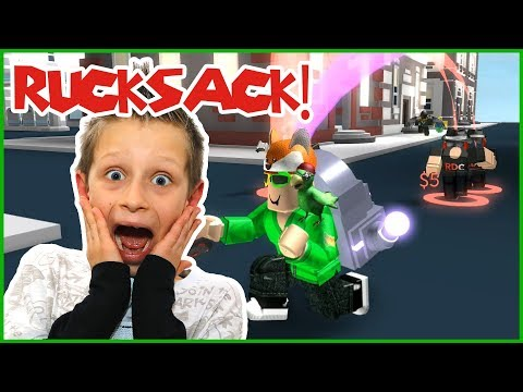 Getting the Rucksack Backpack in Cash Grab!