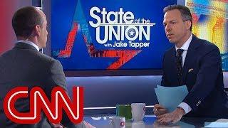 Jake Tapper to Trump adviser: Settle down streaming