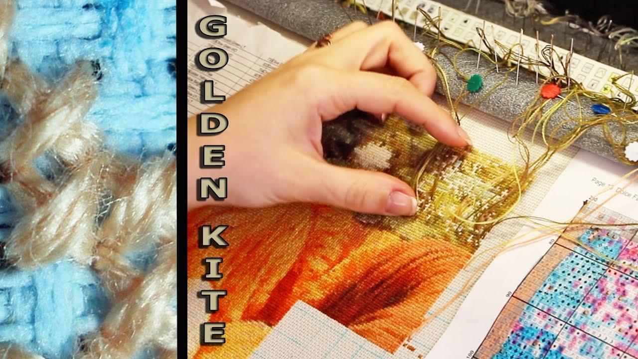 h схемы вышивки крестом golden kite