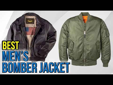 7 Best Men's Bomber Jackets 2017