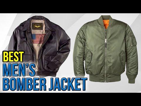 7 Best Men's Bomber Jackets 2017