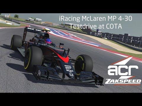 Formula 1 McLaren Honda MP4 30 at Circuit of the Americas COTA -  Setup Guide and Setup Work Test