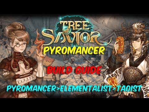 TOS – Tree of Savior – Pyromancer Build Guide  Pyromancer › Elementalist › Taoist
