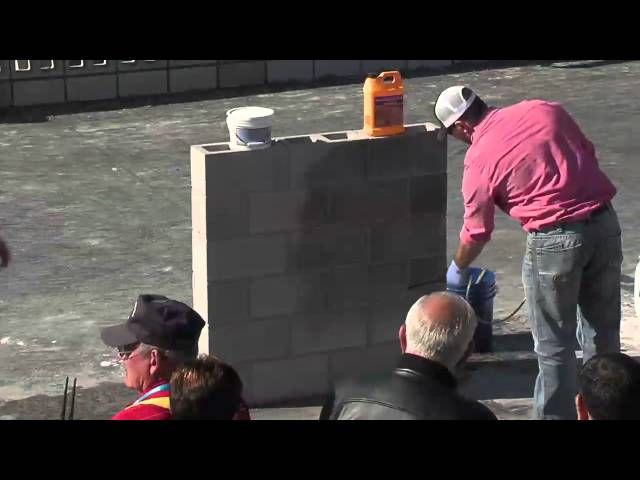 QUIKRETE MASONRY WALL SEALANTS DEMONSTRATION