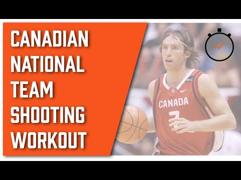 National Team Shooting Guard Workout