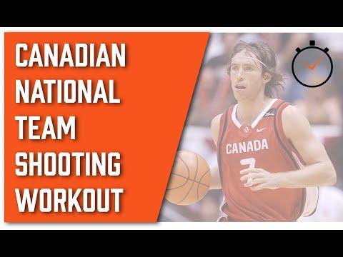 National Team Shooting Guard Workout