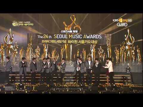 [CUT] EXO's D.O. Scream - Daesang Speech ending