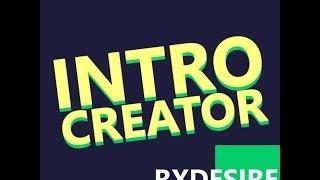 ROBLOX I Intro Creator Plugin Showcase