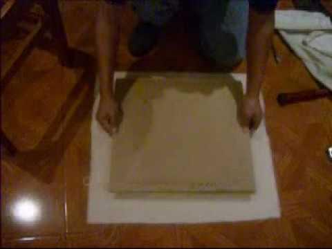 Tutorial para arreglar o tapizar las sillas de tu comedor - Como tapizar una silla con respaldo ...