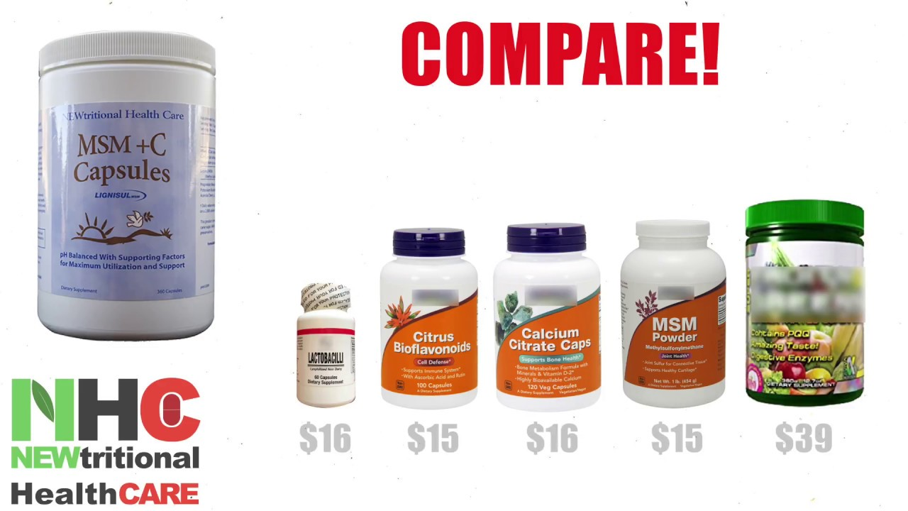Compare! NEWtritional Health Care best selling product ...