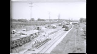 Train Derailment at Grimsby, Ontario, Canada. Late 1970s?
