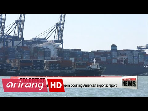 Korea-U.S. free trade deal effective in boosting American exports: report