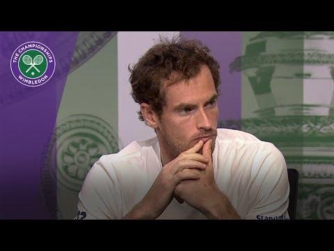 Andy Murray Wimbledon 2017 quarter-final press conference
