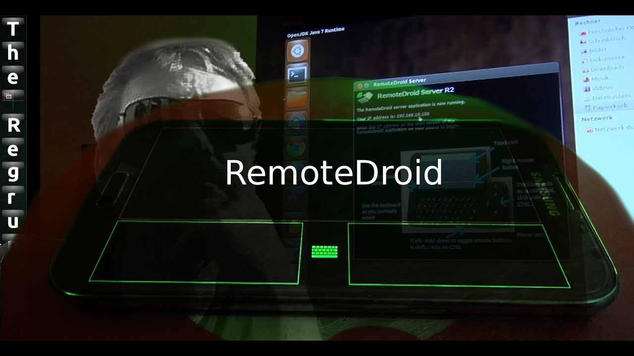 remotedroid ubuntu mit smartphone steuern youtube. Black Bedroom Furniture Sets. Home Design Ideas