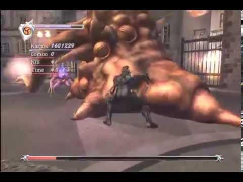 Ninja Gaiden Black Chapter 5 The City Of Fiends Very Hard Youtube