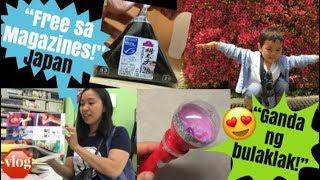 Freebies from magazine Japan | open onigiri | housewife in Japan | Japan life | JAPAN