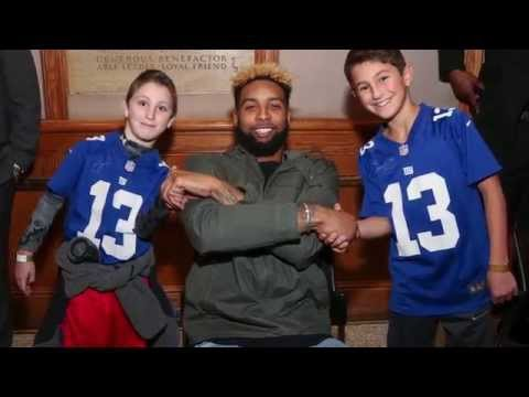 reputable site 3edf8 27180 Steiner Sports Gives Young Boy with Surprise Meeting with His Hero, Odell  Beckham Jr