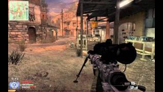 Modern Warfare 2 [PC] - Multiplayer Sniper Gameplay TDM on Rundown HD[720p]