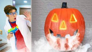 할로윈 호박 괴물 나타났어요! Halloween pumpkin Edition!!! | 말이야와아이들 MariAndKids
