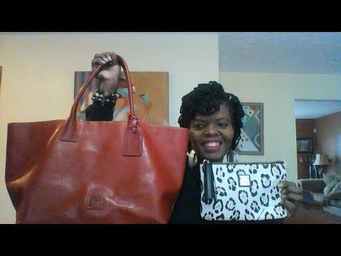 Dooney and Bourke Bags I took to Dubai, United Arab Emirates