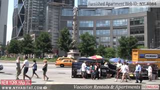 Video Tour of a 1-Bedroom Furnished Apartment in Midtown West, Manhattan