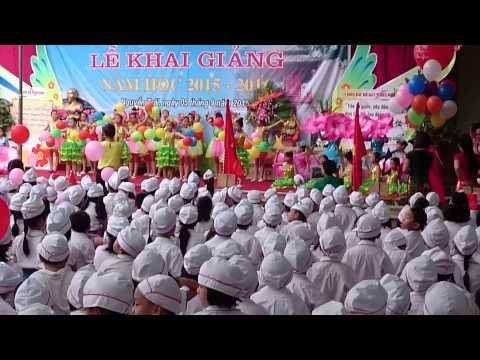 Khai giảng Trường tiểu học Nguyễn Trãi Hà Đông