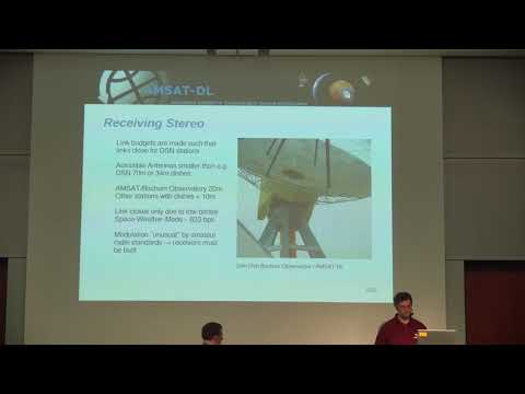 Mario Lorenz, DL5MLO: Across the Solar System - using SDRs for real long-distance communication