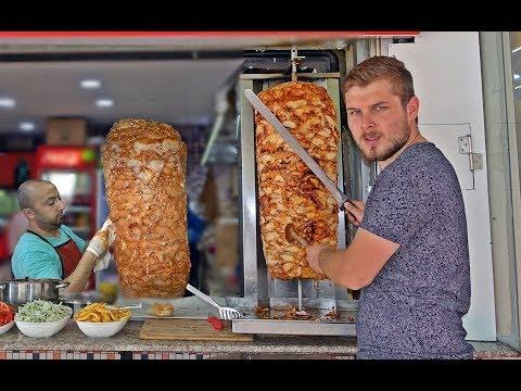 Turkish Chicken Doner 50 kg 1 Meter High Kebap Recipe