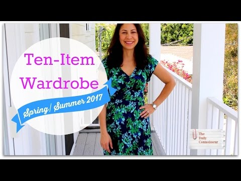 Ten-Item Wardrobe SS 2017 | Jennifer L  Scott | Daily Connoisseur | MADAME CHIC