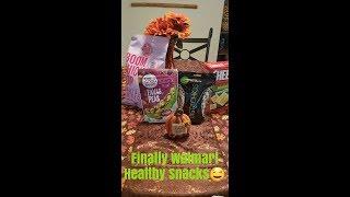 Walmart healthy snacks 🤤 talk through ...