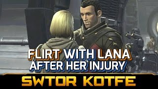 SWTOR KOTFE ► Flirt with Lana Beniko after she was Injured (Chapter 5)
