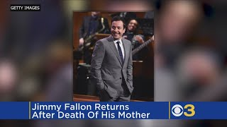 Jimmy Fallon On The Death Of His Mother: 'She Was The Best Audience'