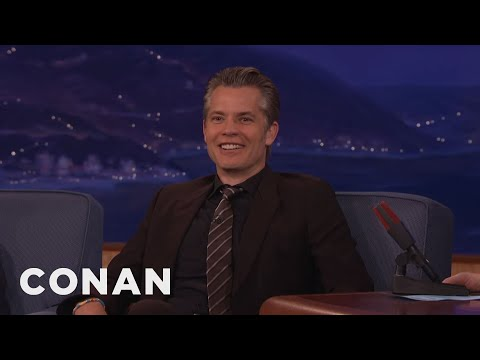 Timothy Olyphant Was A Teen Troublemaker   CONAN on TBS