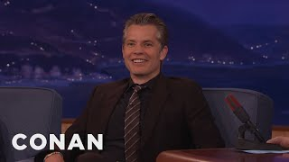 Timothy Olyphant Was A Teen Troublemaker  - CONAN on TBS