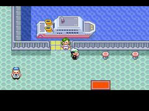 Obtaining the Old Sea Map in Japanese version of Pokemon Emerald to get Mew  w/ Tyninja