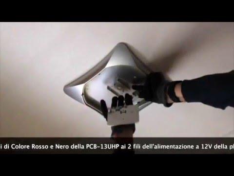 Plafoniera Camper 12v : Sostituzione neon in camper youtube
