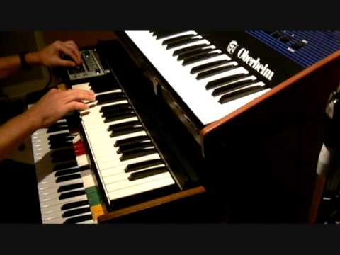 Synth solo with the analog vintage Roland SH 2000