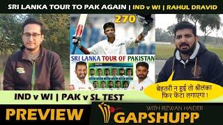 Pakistan vs Australia and series against Sri Lanka   Rahul Dravid 270 in Rawalpindi   Imran mimicry