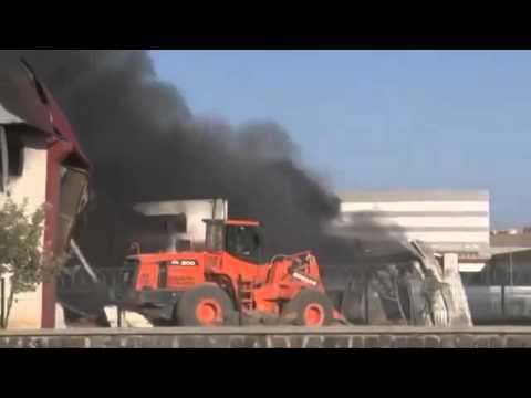 Gaziantep'te Fabrikada Büyük Yangın!