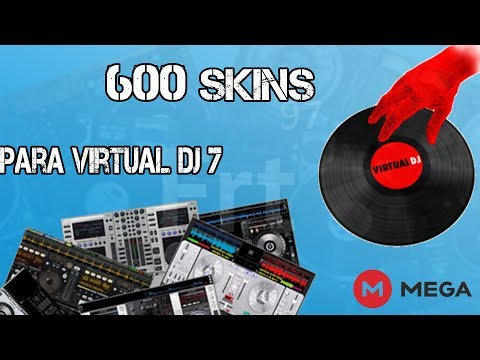 Pack de 600 Skins para Virtual DJ 2017