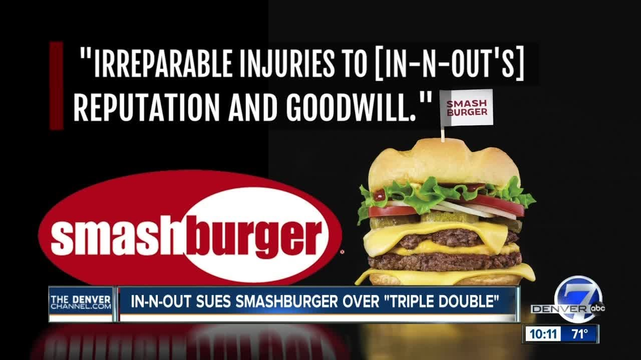 Burger battle: In-N-Out suing Smashburger over 'Triple Double'