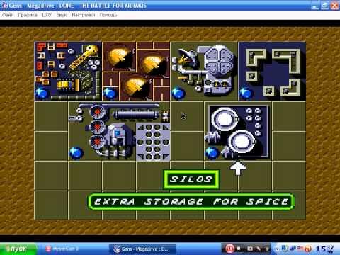Dune 2 gameplay (PC Game, 1992)
