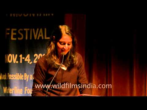 Pia Singh speaking at Mussoorie Writers Mountain Festival - Part 1