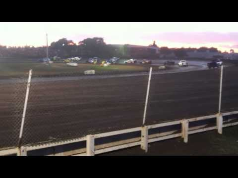 4th of July 4th mini stocks at silver dollar speedway, peacefully cruisin before the main